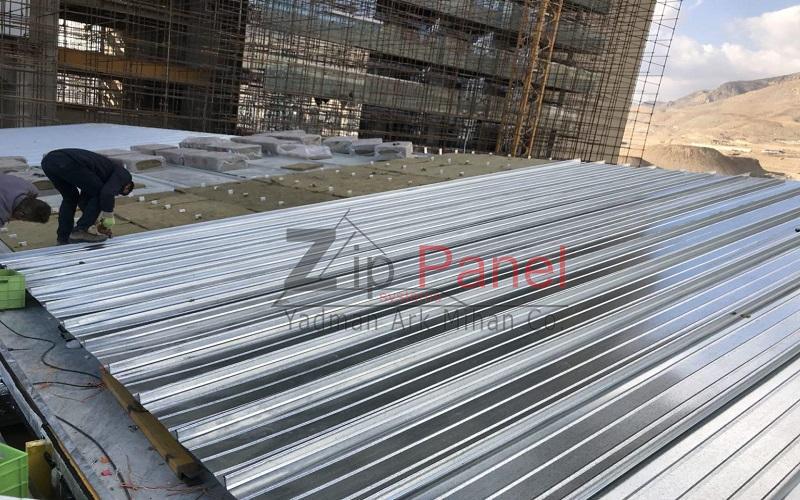 پوشش سقف کلزیپ (زیپ پانل)