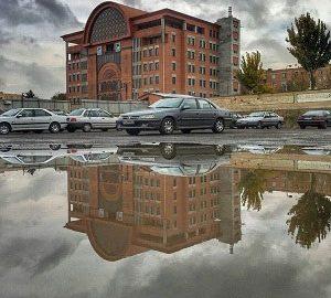سیستم پوشش سقف قوسی زیپ پانل - پروژه عمارت جدید شهرداری تبریز - ایستادرز
