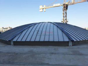پوشش سقف زیپ تک کلزیپ ایستا درز