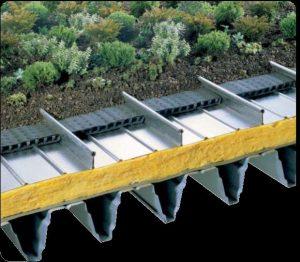 سقف سبز زیپ پانل